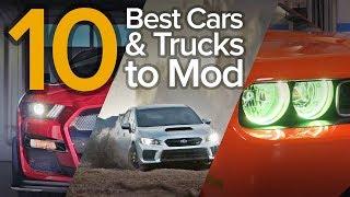 Top 10 Best Cars & Trucks to Modify: The Short List