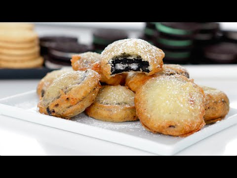 How to make batter for frying oreos