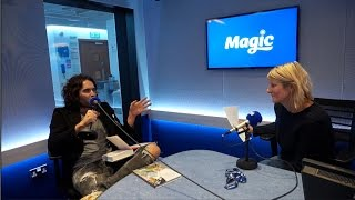 Russell Brand talks #Parklife and THAT answer phone message