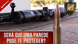 Fuzil X Tijolos: Qual o poder de penetração de um disparo?