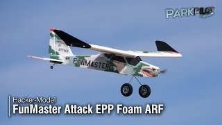 Hacker Model Fun Master Attack EPP Foam ARF EP 47.24