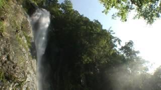 熊本県 五家荘とせんだん轟の滝