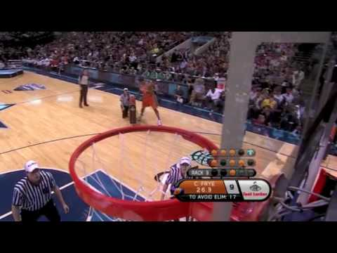 2010 3-Point Shootout: Channing Frye (1st Round)