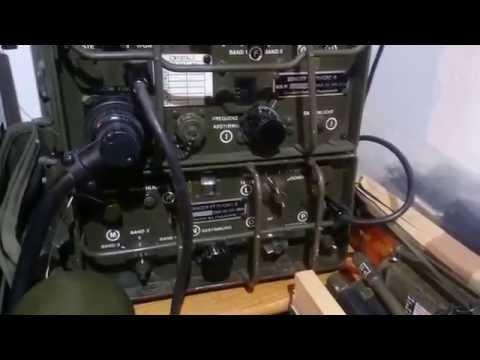 BC 611+ GRC 9 Anlage Bundeswehr Funkgerät Militär Military Radio German Army D-Day Normandie AM