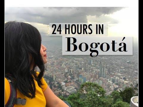 24 hours in Bogotá, Colombia