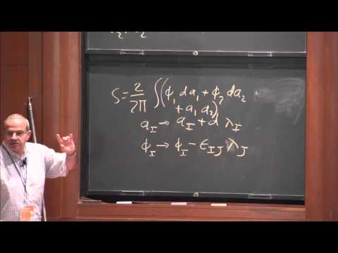 "PiTP 2015 - ""Fun with Free Field Theory"" - Nathan Seiberg"