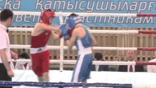 Чемпионат Казахстана по боксу среди юниоров финал1