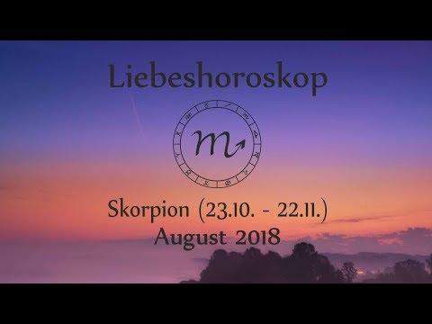 Horoskop Sternzeichen Skorpion Liebe Und Leben Im August 2018 Youtube