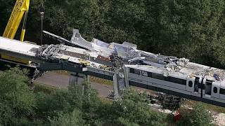Abandoned Places | maglev train crash in lathen germany