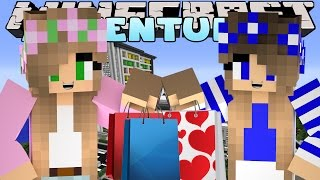 Minecraft-Little Kelly Adventures-GOING TO THE MALL w/Little Carly.