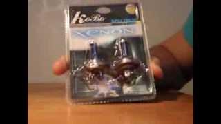 видео лампа ксенон h7