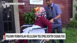 Polemik Pembatalan Kelulusan Tes CPNS Dokter Disabilitas