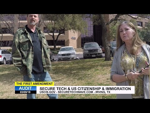 First Amendment Audit - SecureTech & US Citizenship & Immigration