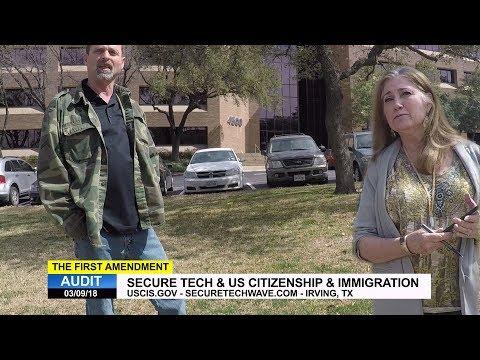 First Amendment Audit - SecureTech & US Citizenship & Immigration