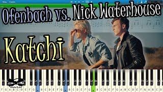 Download Ofenbach vs. Nick Waterhouse - Katchi [Piano Tutorial | Sheets | MIDI] Synthesia MP3 song and Music Video