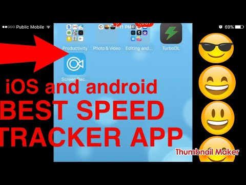BEST SPEED TRACKER ON IOS AND ANDROID!!!