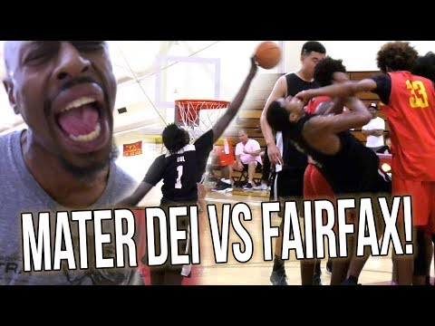Mater Dei VS Fairfax HEATED CHAMPIONSHIP Goes To FINAL SECONDS! Spencer Freedman VS Ethan Anderson!