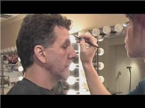 Theatrical Makeup : How to Do Old Man Makeup