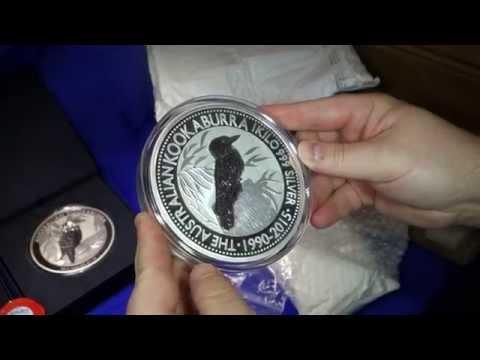 Unboxing 481oz of Silver Bullion