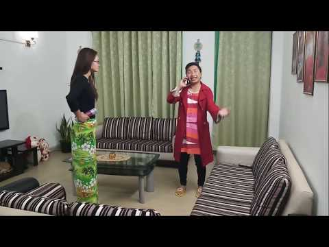 Awmpui Thinchhia Part -58 - Crazy About Iphone  (Awmpui Pa)