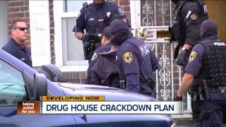 Drug house crackdown plan in Detroit