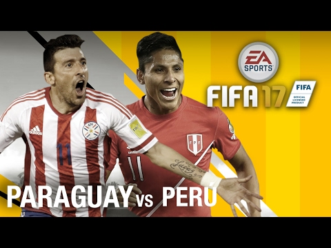 Segundo Partido: Paraguay vs Perú | Eliminatorias Rusia 2018 FIFA17 !SHOW DE PALOSSSS!!