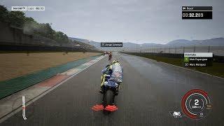 MotoGP 18 - Rain Gameplay (PC HD) [1080p60FPS]