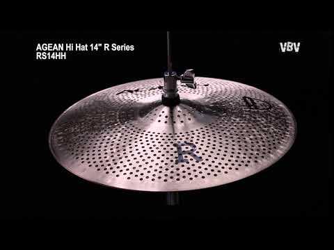 "14"" Hi Hat R Series - Silent Cymbal video"