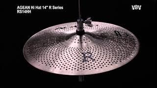 "Hi Hat 14"" R Series - Silent Cymbal vidéo"