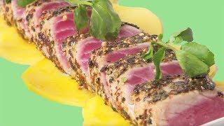 Uihc Healthful Recipes: Wasabi Tuna