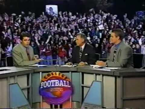 Alabama vs. Auburn 1996 College Gameday Post game at Legion Field
