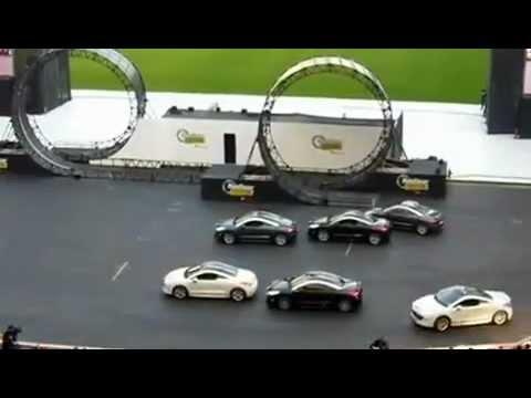 Peugeot RCZ driven by Top Gear fest Durban South Africa