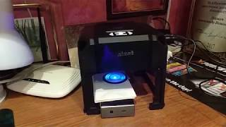 Лазерный скоростной гравер KKmoon 1500 МВт USB ЧПУ 8 x 8  Видеообзор