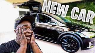 Buying A $100,000 Tesla Model X For My Birthday 🥳🎂🎉