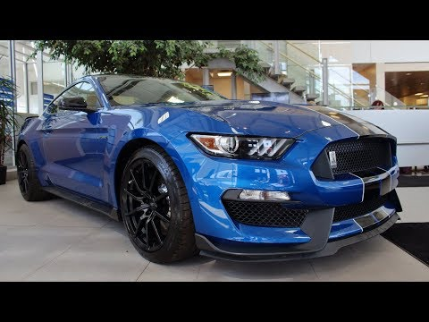 A Shelby GT350 Just Rolled IntoThe Showroom of Sherwood Ford