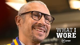 What I Wore: Henrik Larsson
