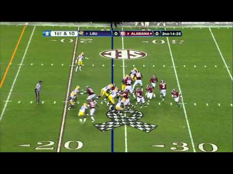 Morris Claiborne vs Alabama 2011