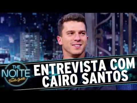 The Noite (17/08/16) - Entrevista com Cairo Santos