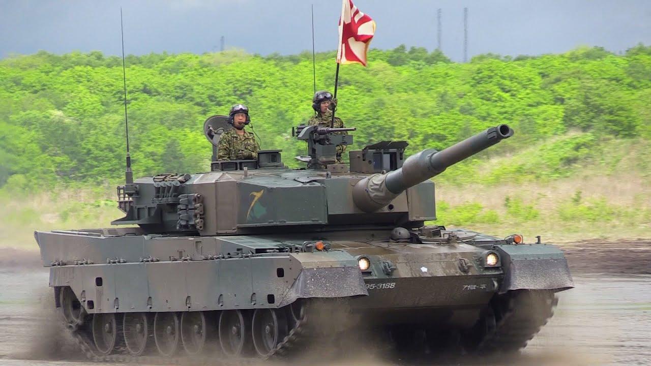 速報版!90式戦車の数がハンパない!東千歳駐屯地創立記念行事 陸上自衛隊 - YouTube