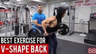BEST EXERCISE for V-SHAPED BACK! (Hindi / Punjabi)