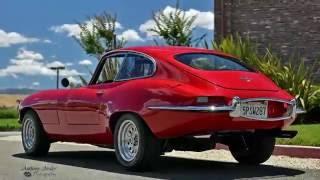 1964 Jaguar E-Type V8 Coupe Red