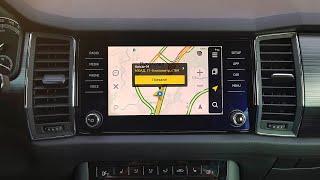 Навигация для Skoda Kodiaq (Balero) с ОС Android 6.0.1