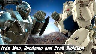 Fallout 4 Mods Week 48 - Iron Man, Gundams and Crab Buddies