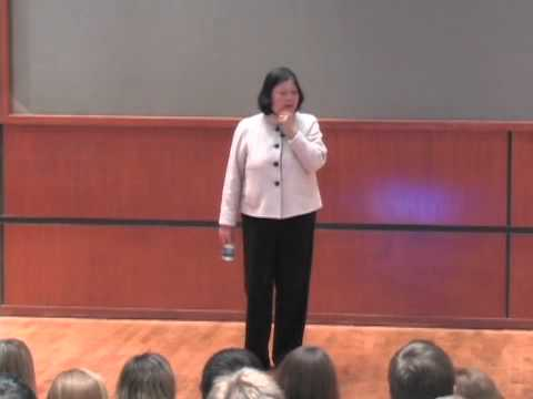 The Last Lecture - Carolyn Woo