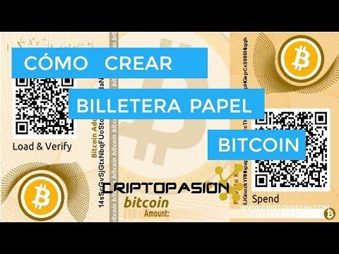 [TUTORIAL] - Crear Billetera De Papel Para Bitcoin - Bitadress