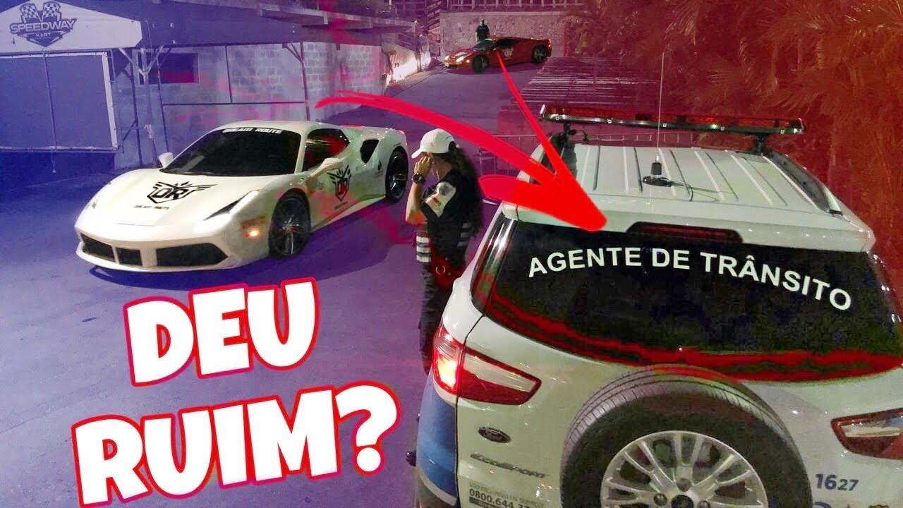 ISSO QUE ACONTECE QUANDO SE VIAJA COM CARROS ESPORTIVOS NO BRASIL