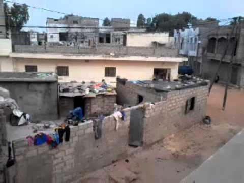 My house in Guédiawaye, Dakar