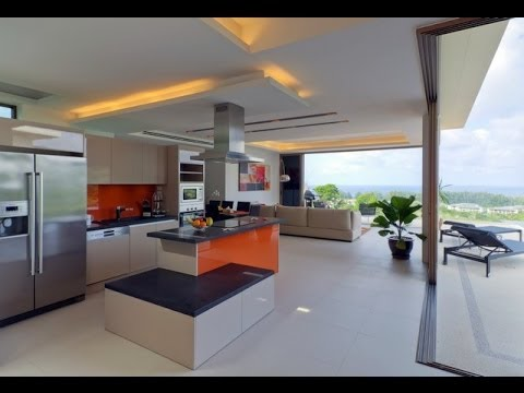 Phuket Financing Sea View villa for sale in Naithon 4 bedrooms
