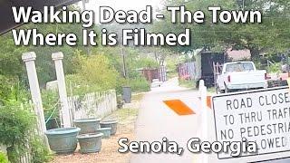 Walking Dead - The Town Where It s Filmed - Senoia, GA
