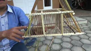 Download Video Cara membuat kandang jebakan burung dari batang rumput pimping/rumput riang-riang MP3 3GP MP4